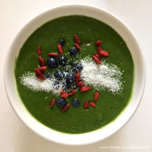 Deep Green Smoothie Bowl
