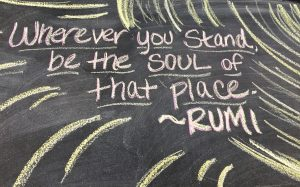 be the soul of this place